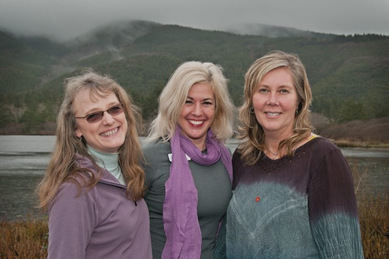 Laura, Kelly and Julie